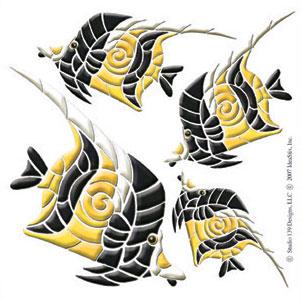 IdeaStix Moorfish Accents DesignStix - Original Premium Peel and Stick Décor