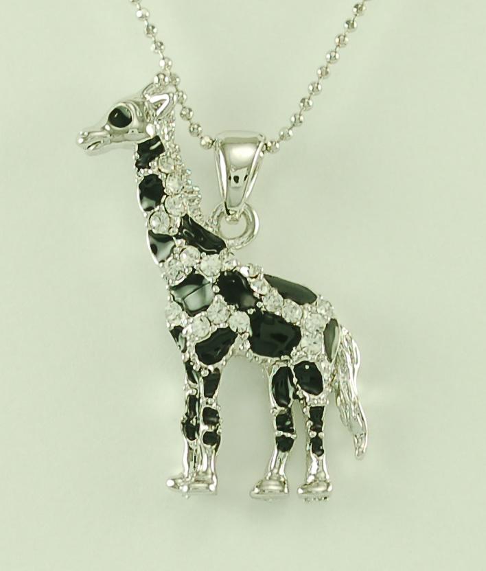 Jpn10375 giraffe pendant necklace ideastix jpn10375 giraffe pendant necklace aloadofball Image collections