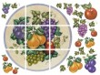 IS0170  Fancy Fruit Plate