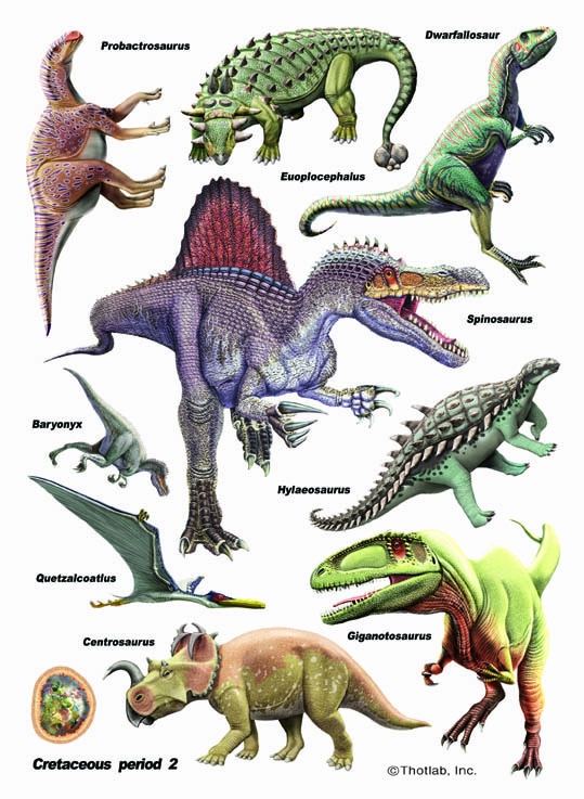IdeaStix Dinosaurs: Cretaceous P1 2-Sheet Accents - Original Premium Peel and Stick D??cor