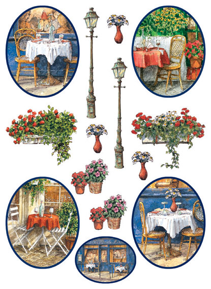 IdeaStix Chez Gereldine 2-Sheet Accents - Original Premium Peel and Stick D??cor