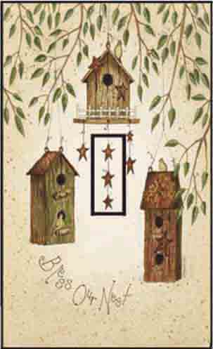 Starry Birdhouses Single Toggle SwitchStix Peel and Stick Switch Plate Cover Décor