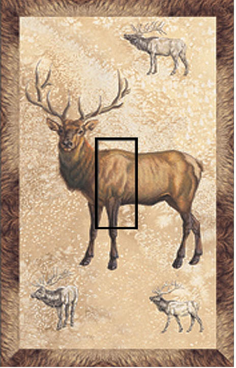 Elk Single Toggle SwitchStix Peel and Stick Switch Plate Cover Décor