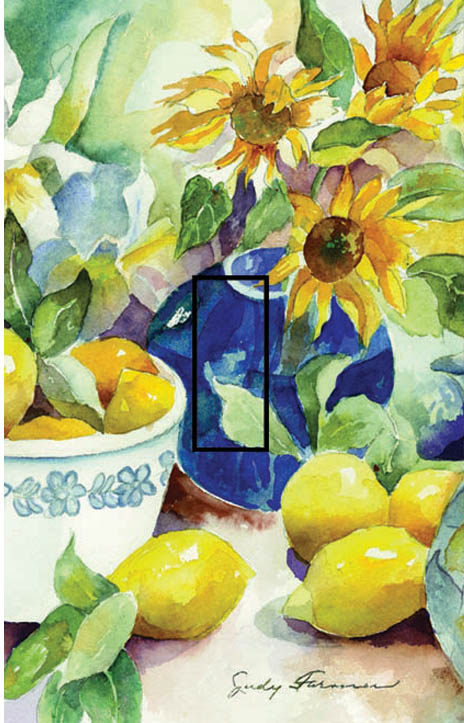 Lemon Table Single Toggle SwitchStix Peel and Stick Switch Plate Cover Décor