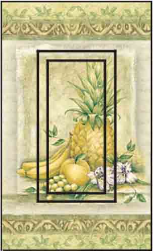 Pineapple Single Rocker SwitchStix Peel and Stick Switch Plate Cover Décor