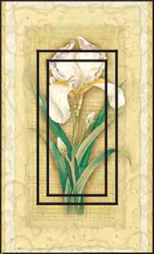 Iris Single Rocker SwitchStix Peel and Stick Switch Plate Cover Décor