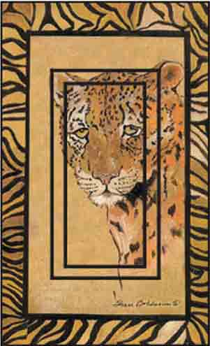 Leopard Single Rocker SwitchStix Peel and Stick Switch Plate Cover Décor