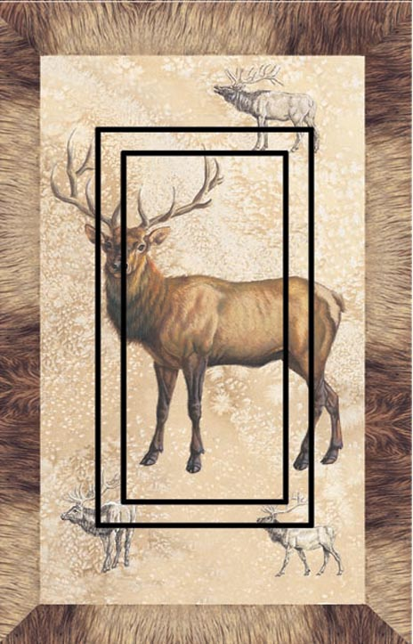 Elk Single Rocker SwitchStix Peel and Stick Switch Plate Cover Décor