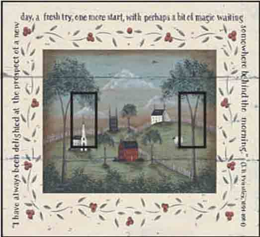 A New Day Double Toggle SwitchStix Peel and Stick Switch Plate Cover Décor