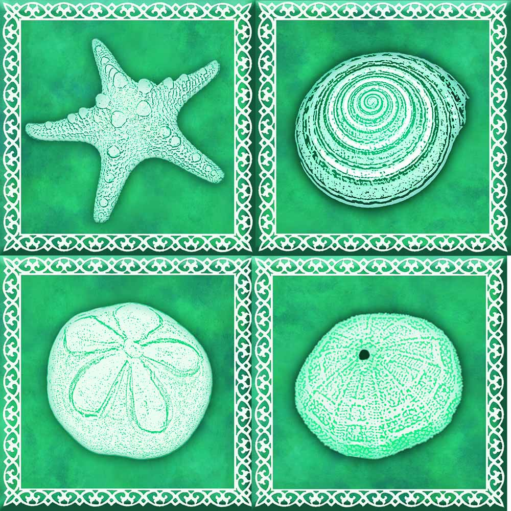 IdeaStix Monterey TileStix - Original Premium 4-Piece Peel and Stick Tile Décor